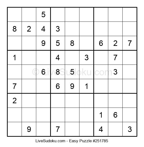 Beginners Puzzle #251785