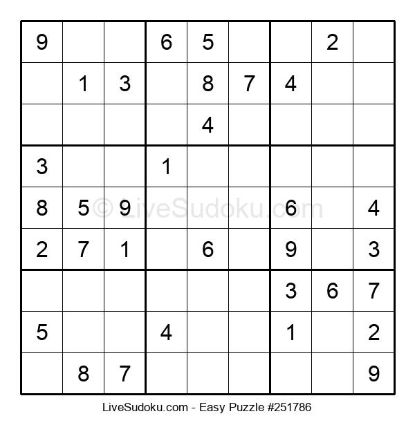 Beginners Puzzle #251786