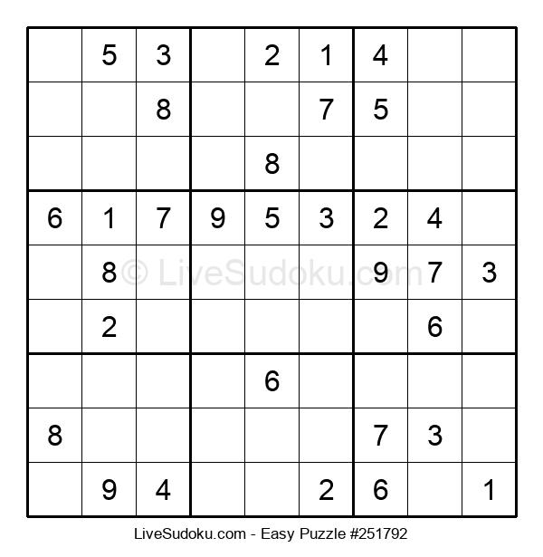 Beginners Puzzle #251792