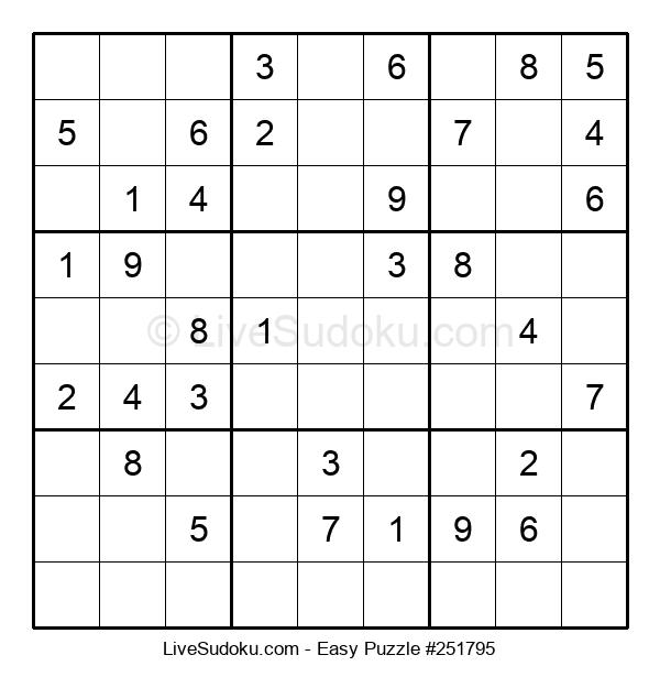 Beginners Puzzle #251795