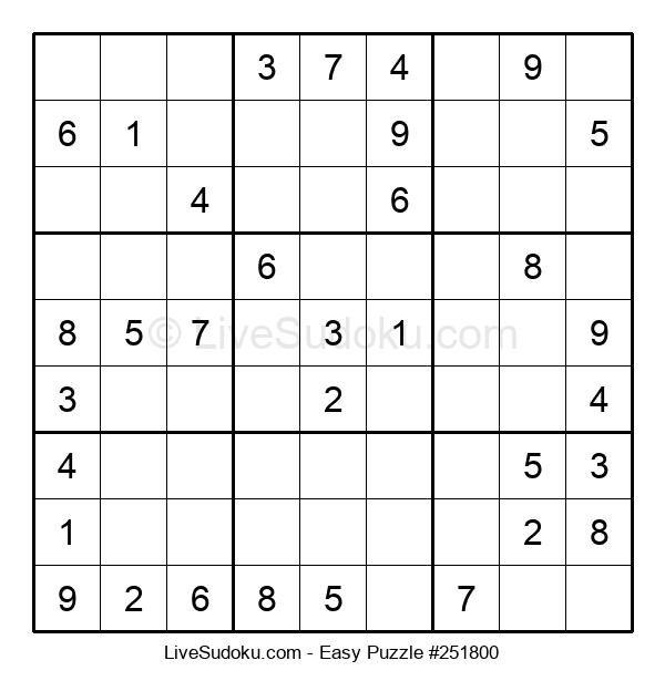 Beginners Puzzle #251800