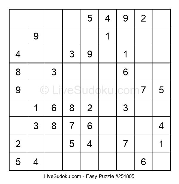 Beginners Puzzle #251805