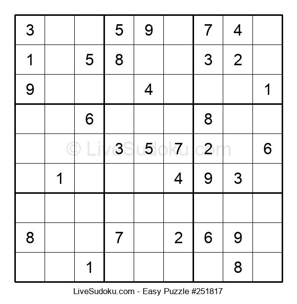 Beginners Puzzle #251817
