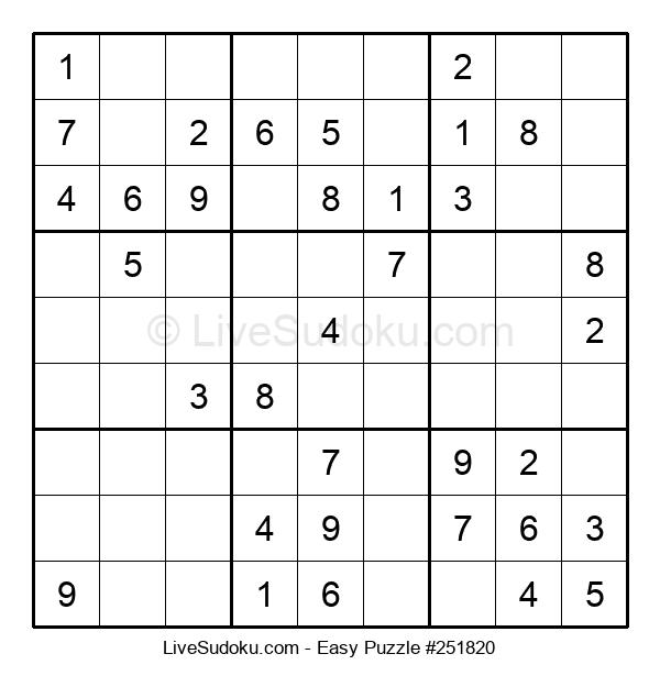 Beginners Puzzle #251820