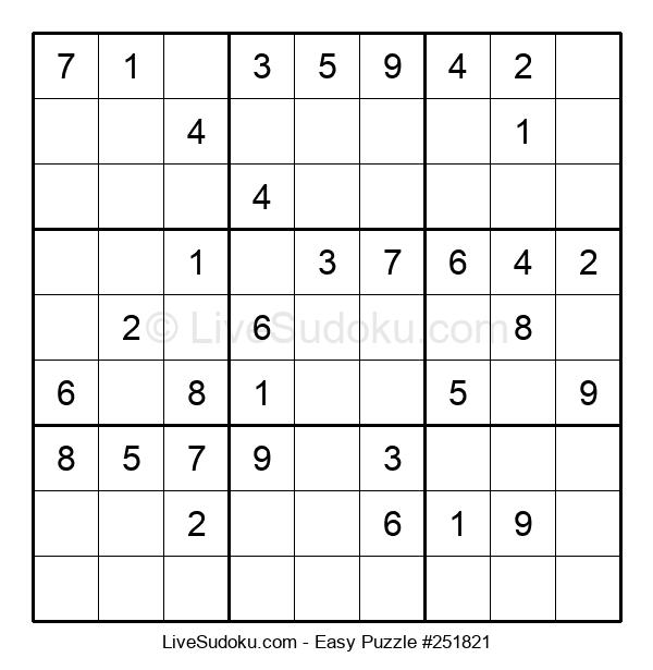 Beginners Puzzle #251821