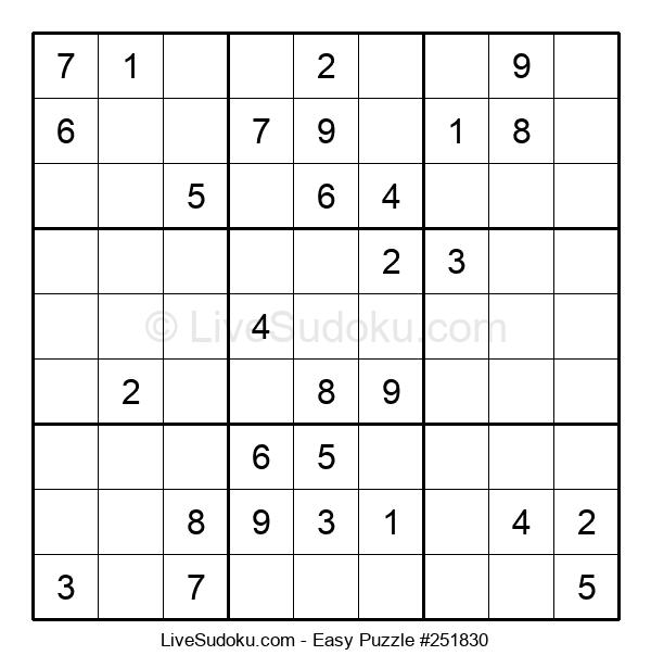 Beginners Puzzle #251830
