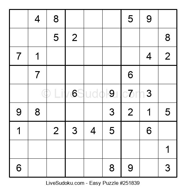 Beginners Puzzle #251839