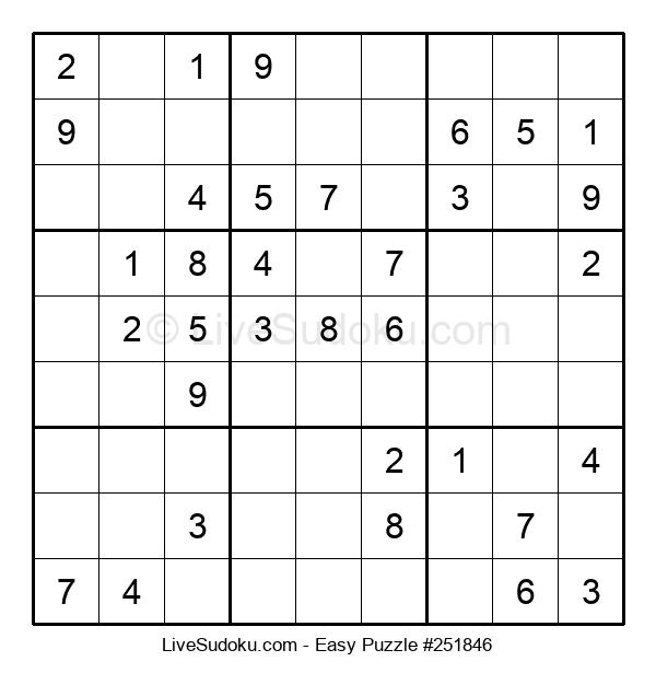 Beginners Puzzle #251846