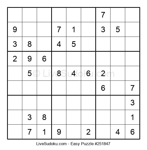 Beginners Puzzle #251847