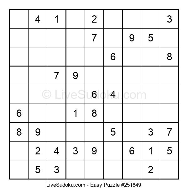 Beginners Puzzle #251849