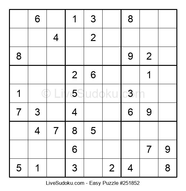 Beginners Puzzle #251852