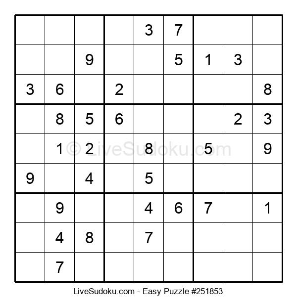 Beginners Puzzle #251853