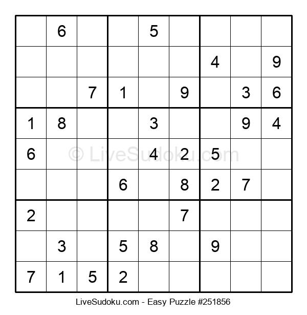 Beginners Puzzle #251856