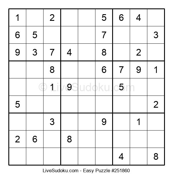 Beginners Puzzle #251860