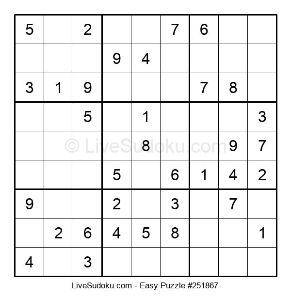 Beginners Puzzle #251867