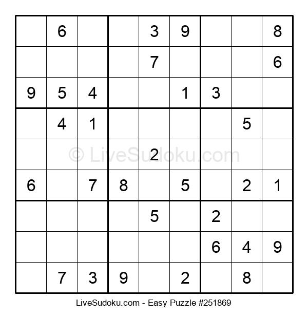 Beginners Puzzle #251869