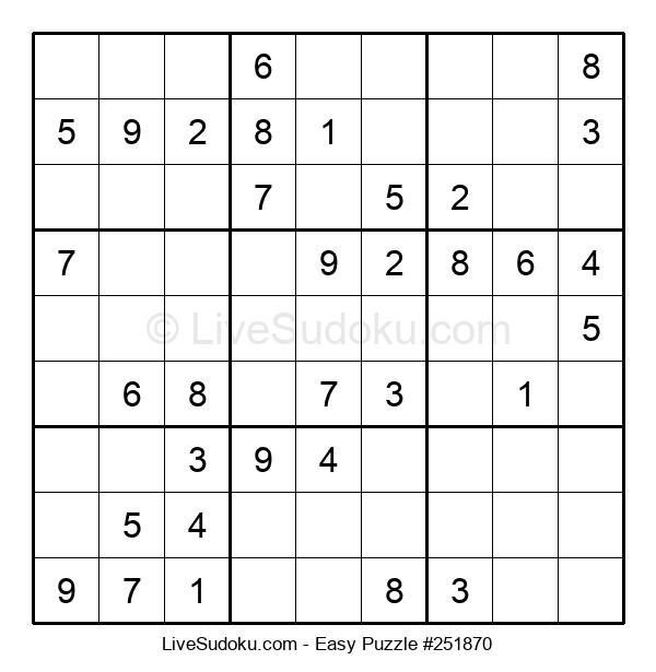 Beginners Puzzle #251870