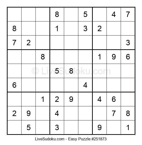 Beginners Puzzle #251873