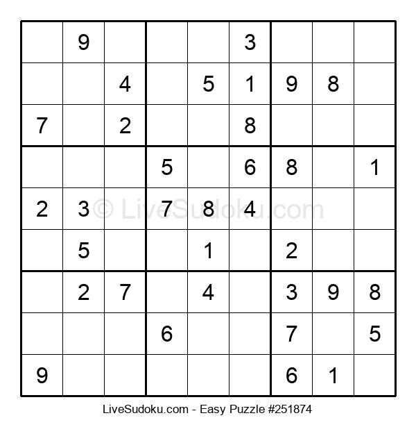 Beginners Puzzle #251874
