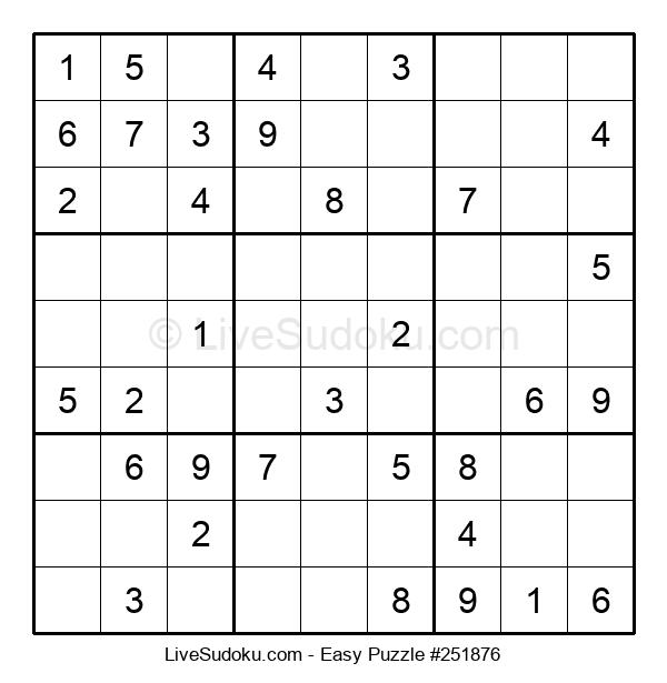 Beginners Puzzle #251876