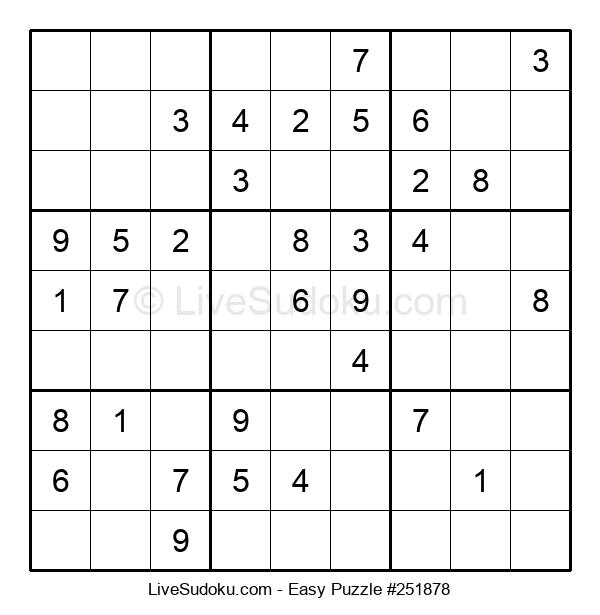 Beginners Puzzle #251878
