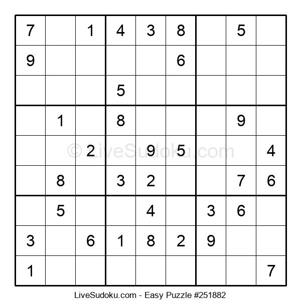 Beginners Puzzle #251882