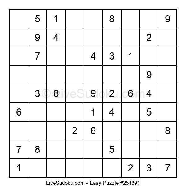 Beginners Puzzle #251891
