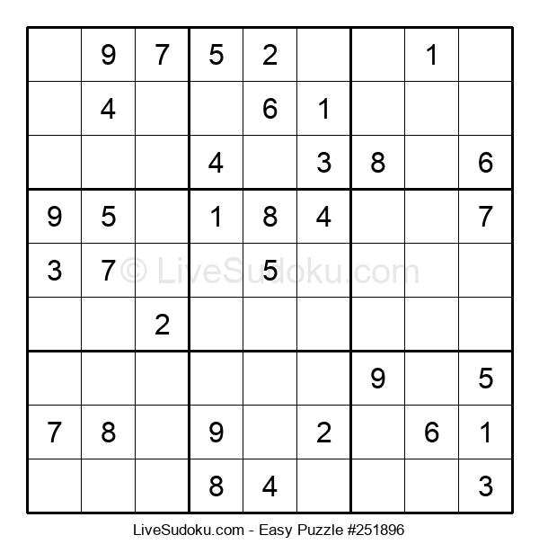 Beginners Puzzle #251896