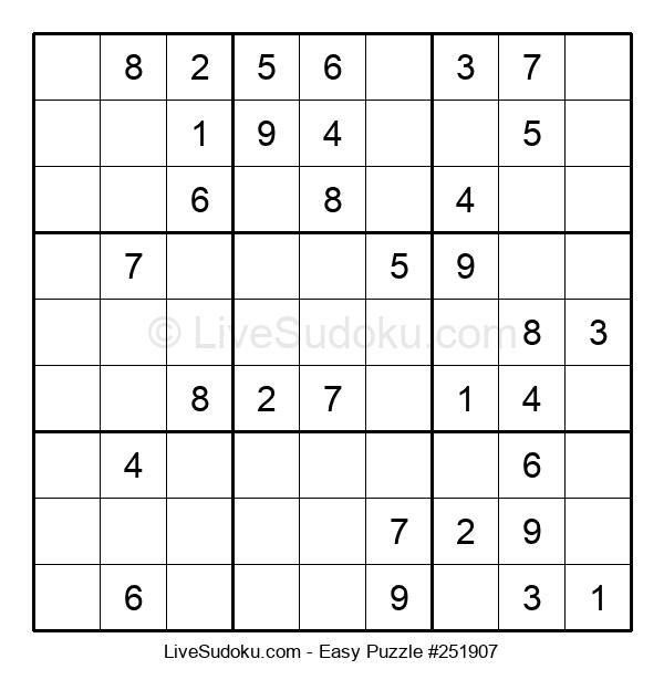 Beginners Puzzle #251907