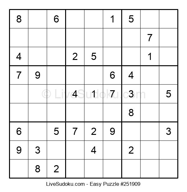 Beginners Puzzle #251909
