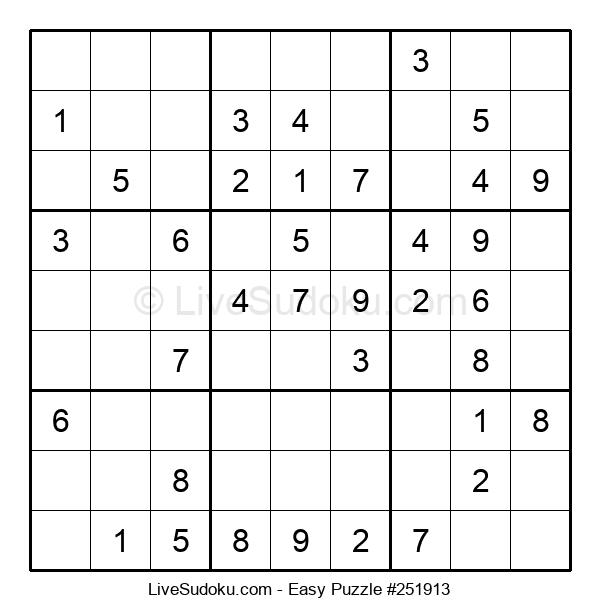 Beginners Puzzle #251913