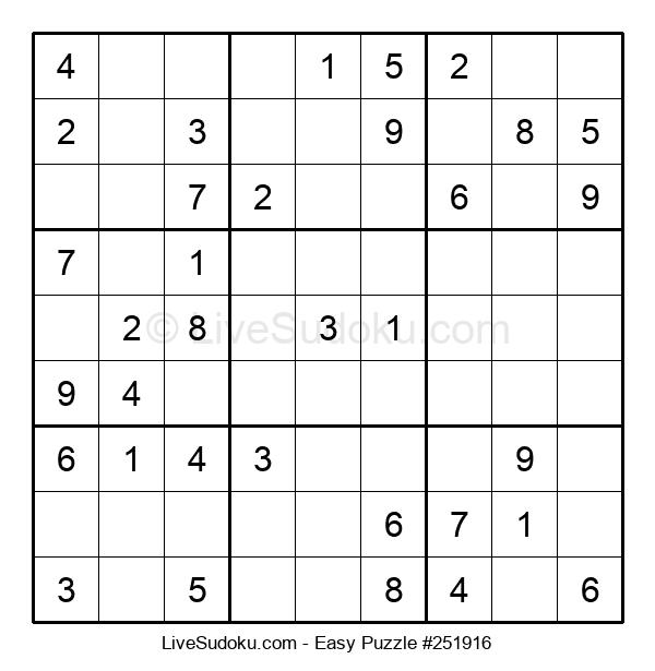 Beginners Puzzle #251916