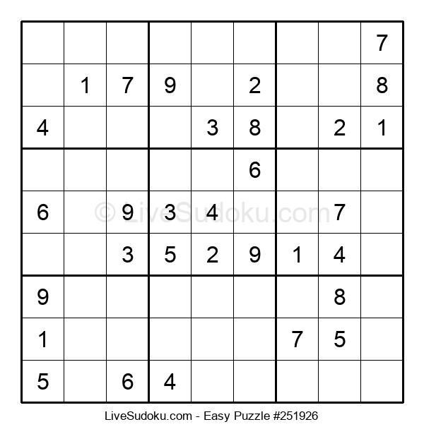 Beginners Puzzle #251926