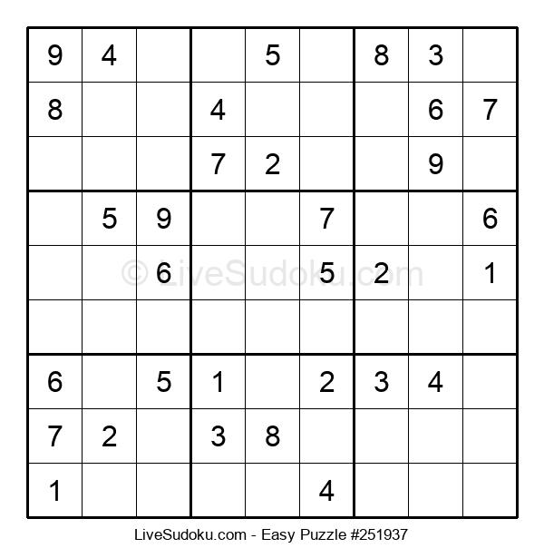 Beginners Puzzle #251937