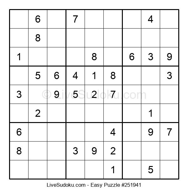 Beginners Puzzle #251941
