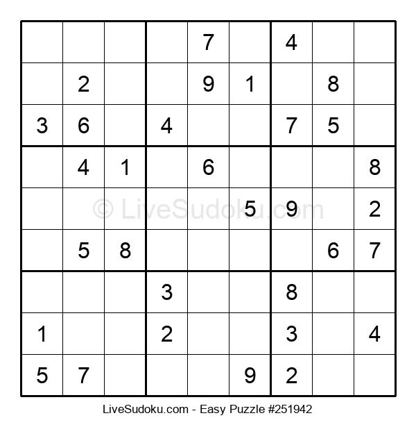 Beginners Puzzle #251942