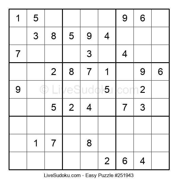 Beginners Puzzle #251943