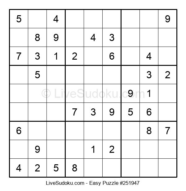 Beginners Puzzle #251947