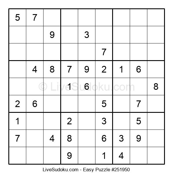 Beginners Puzzle #251950