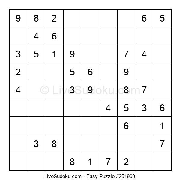 Beginners Puzzle #251963