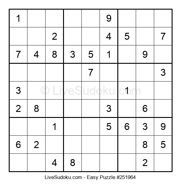 Beginners Puzzle #251964