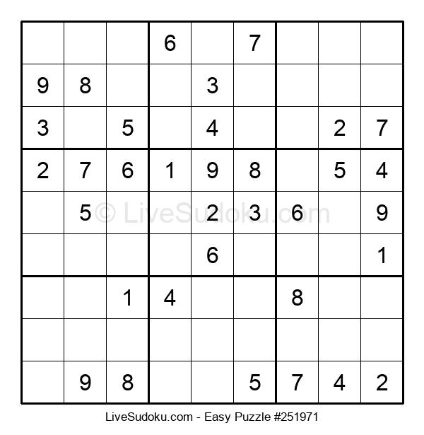 Beginners Puzzle #251971