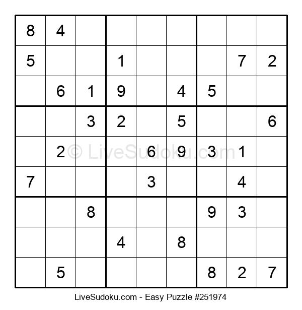 Beginners Puzzle #251974