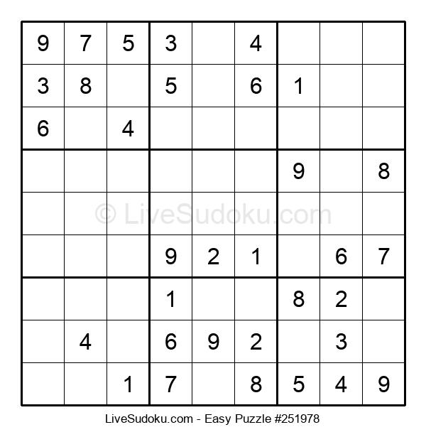 Beginners Puzzle #251978