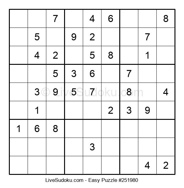 Beginners Puzzle #251980