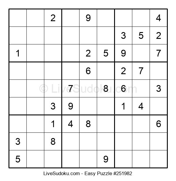 Beginners Puzzle #251982
