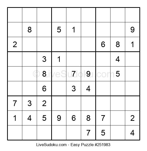 Beginners Puzzle #251983