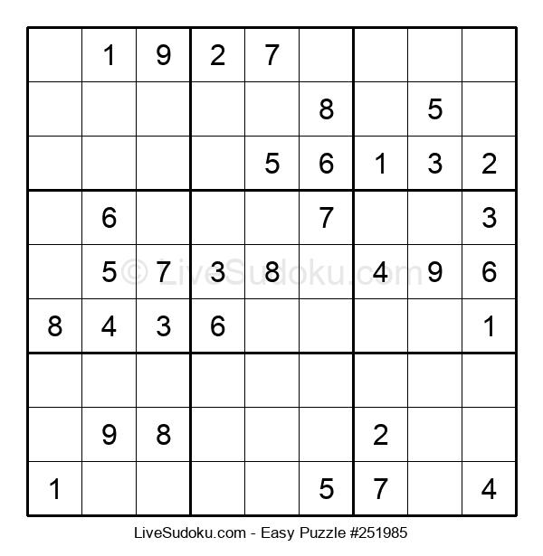 Beginners Puzzle #251985