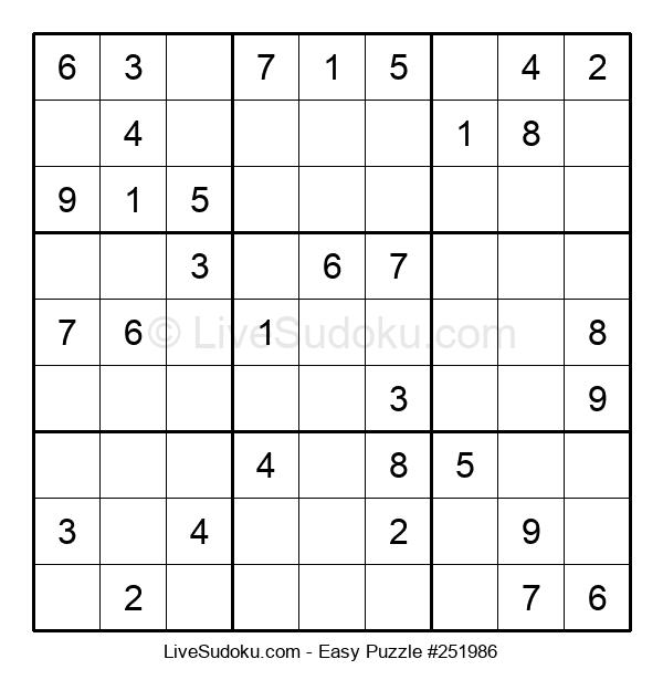 Beginners Puzzle #251986