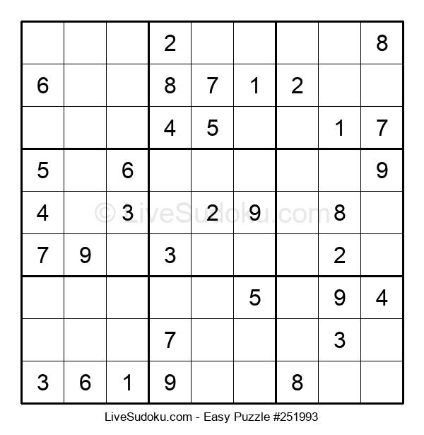 Beginners Puzzle #251993